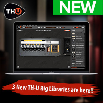 NEW RELEASE: Overloud release 3 new TH-U Rig Libraries