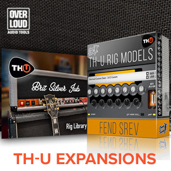 NEW RELEASE: Overloud release 2 new TH-U Rig Libraries!