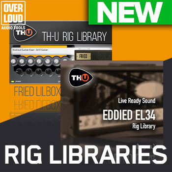 NEW RELEASE: Overloud Choptones Fried Lilbox and Overloud LRS Eddied EL34