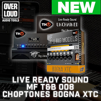 NEW RELEASE: Overloud release 3 brand new TH-U Rig Libraries!