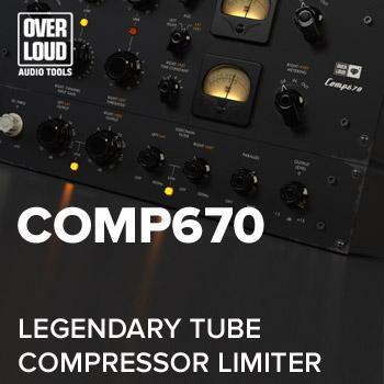 NEW RELEASE: Overloud Gem Comp670