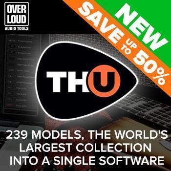 NEW RELEASE: Overloud TH-U Full Guitar Amp Simulator