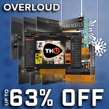 ENDS 24TH DEC - Save up to 63% in the Overloud festive Sale!