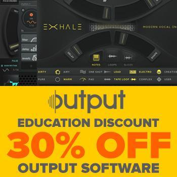 Education Discount: Save 30% on all Output titles