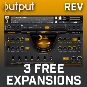ENDS 31ST AUGUST - Buy Output Rev in August + Get all 3 REV Expansion Packs WORTH £90 FREE!