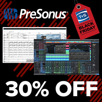 BLACK FRIDAY DEAL - Up to 30% off Presonus Studio One 5 and Notion 6