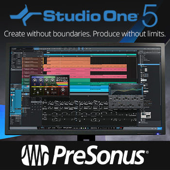 NEW RELEASE: Presonus Studio One 5 is here!