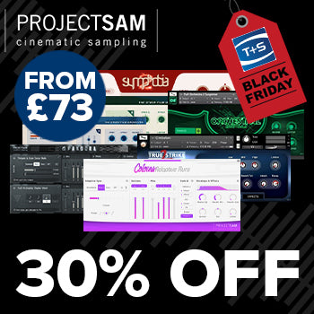 BLACK FRIDAY DEAL - Get 30% off ProjectSAM Instruments for 48 hours!