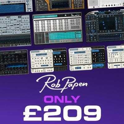 Complete your Rob Papen collection for an extraordinarily low price
