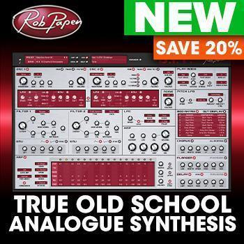 NEW RELEASE: Rob Papen release B.I.T. - Analogue Modelled Synthesiser