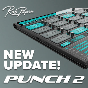 New update for Rob Papen Punch 2 inc NKS compatibility