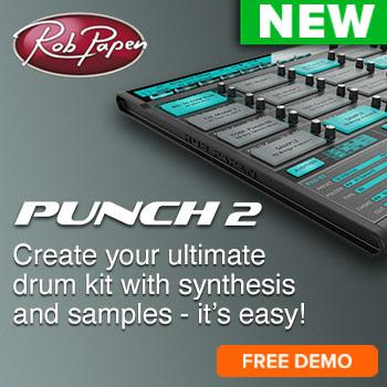 NEW RELEASES: Rob Papen Punch 2, XY-Transfer + eXplorer 6 - Free Demo Now Available