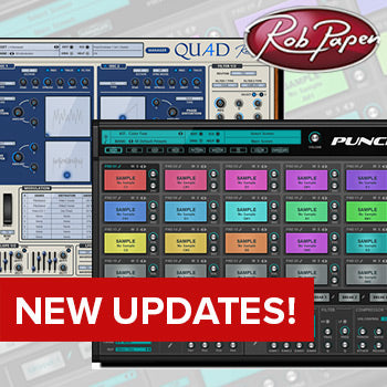 Rob Papen updates Punch 2 and Quad synth plugins
