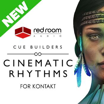 NEW RELEASE: Red Room Audio Cue Builders - Cinematic Rhythms