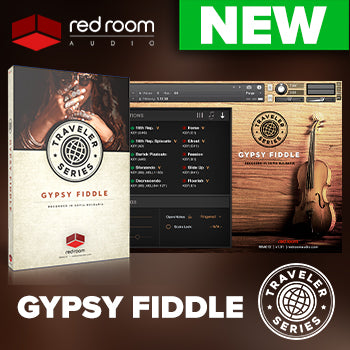 NEW RELEASE: Red Room Audio Traveler Series Gypsy Fiddle