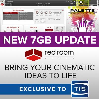 Red Room Audio updates Palette orchestral instruments