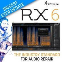 iZotope release RX 6 - the industry standard audio repair software