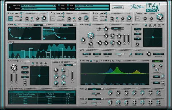 It's Time to update your Rob Papen RAW Kick!