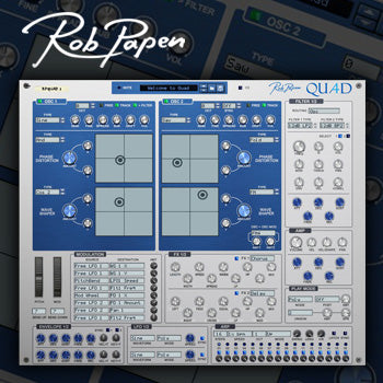 Coming Soon - Rob Papen announces Quad synthesizer as VST plug-in