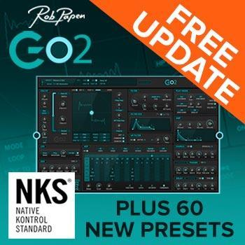 New update gives Rob Papen Go2 full NKS compatibility