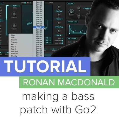 Tutorial: how to make a great sounding bass patch with Rob Papen Go2