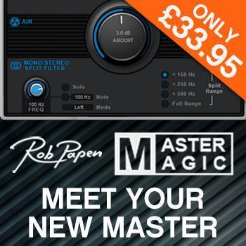 NEW! Rob Papen MasterMagic - the ultimate affordable mastering tool