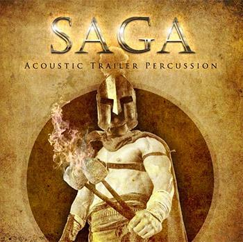 Red Room Audio release SAGA: Acoustic Trailer Percussion
