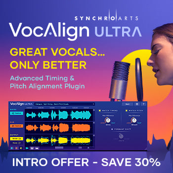 NEW RELEASE: Synchro Arts VocAlign Ultra