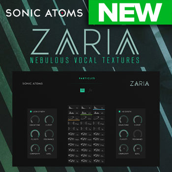 NEW RELEASE: Sonic Atoms Zaria Nebulous Vocal Textures
