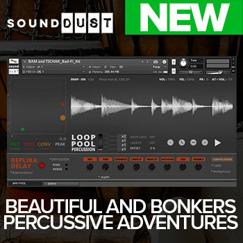 NEW RELEASE: Sound Dust Loop Pool Percussion