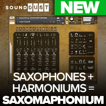NEW RELEASE: Sound Dust Saxomaphonium