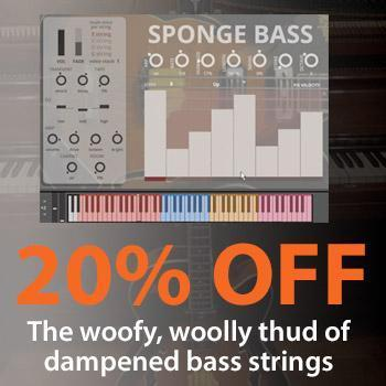 NEW RELEASE: Sound Dust Sponge Bass