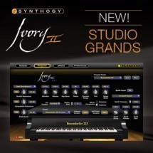 Synthogy capture exceptional pianos in new Ivory II Studio Grands