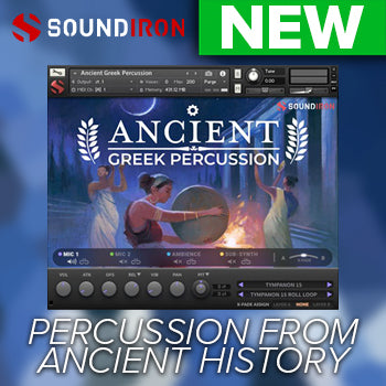 NEW RELEASE: Soundiron Ancient Greek Percussion
