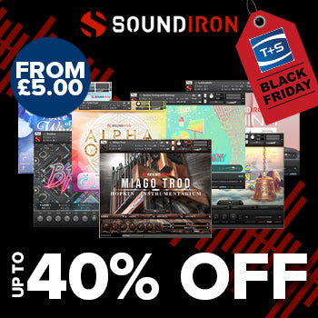 BLACK FRIDAY DEAL - Up to 40% off all Soundiron Kontakt tools