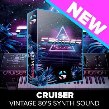 NEW RELEASE: Soundiron release Cruiser - Vintage 80's Synth Sound