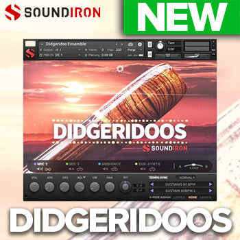 NEW RELEASE: Soundiron Didgeridoos