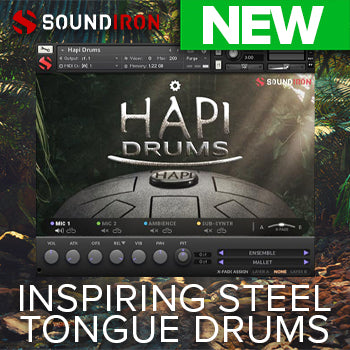 NEW RELEASE: Soundiron Hapi Drums