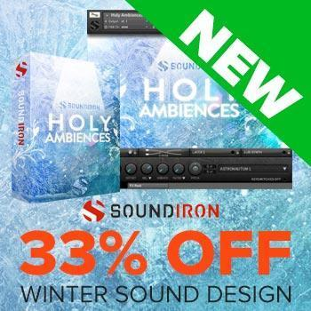 NEW RELEASE: Soundiron Holy Ambiences 3.0