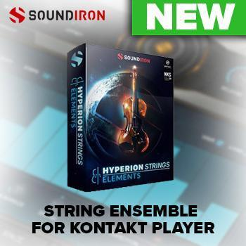 NEW RELEASE: Soundiron Hyperion Strings Elements for FREE Kontakt Player