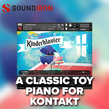 NEW RELEASE: Soundiron Kinderklavier