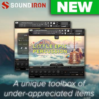 NEW RELEASE: Soundiron release Little Epic Percussion for Kontakt