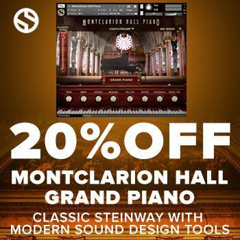 NEW RELEASE: Soundiron Montclarion Hall Grand Piano – Time+Space