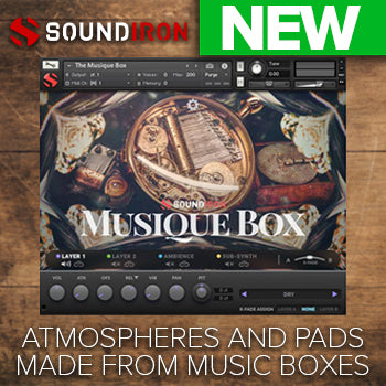NEW RELEASE: Soundiron Musique Box 2.0