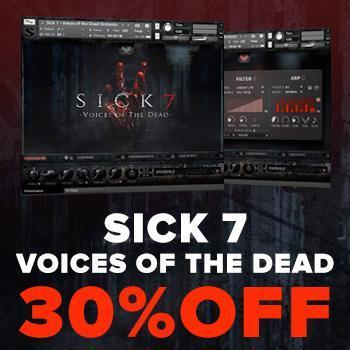 NEW RELEASE: Soundiron Sick 7: Voices of the dead