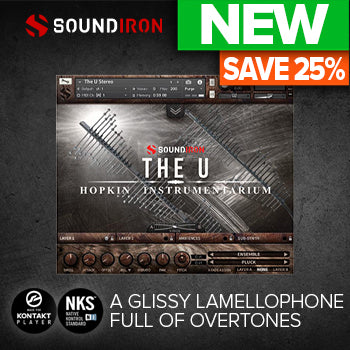 ENDS 2ND NOV - 25% off new Soundiron Hopkin Instrumentarium: The U