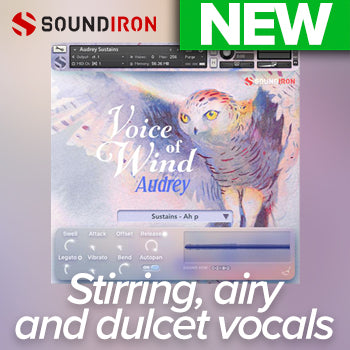 NEW RELEASE: Soundiron Voice of Wind - Audrey