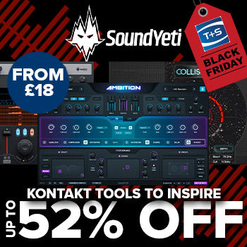 BLACK FRIDAY DEAL - Save up to 52% on Sound Yeti Kontakt instruments