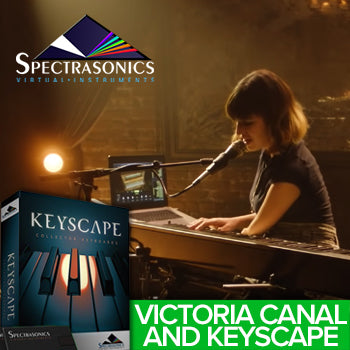 MUST WATCH: Victoria Canal takes on Spectrasonics Keyscape and Omnisphere!