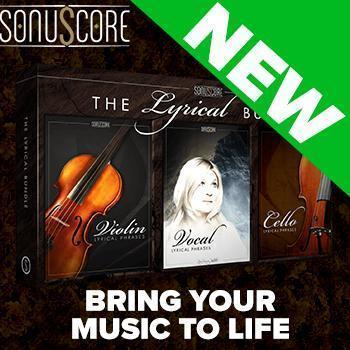 NEW RELEASE: Sonuscore Lyrical Bundle